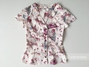 Рубашка Femme Fatale натуральный шелк размер 42