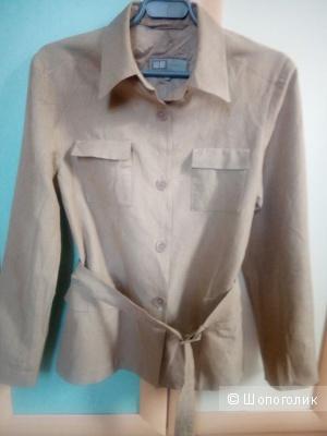 Пиджак жакет WE вискоза лён 46 размер
