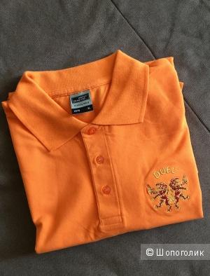 Оранжевое поло james nicholson. Размер XL Новое