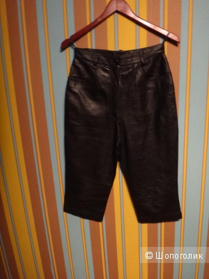 Кожаные капри 44-46 размер Испания