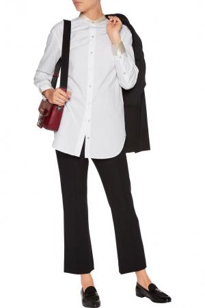 Удлиненная блузка Rag&Bone, хлопок и шелк, размер 42-44