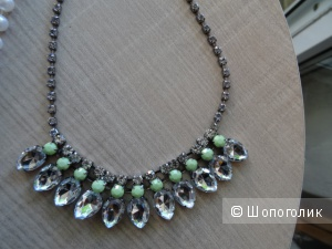 Ожерелье и браслет в тон, б/у