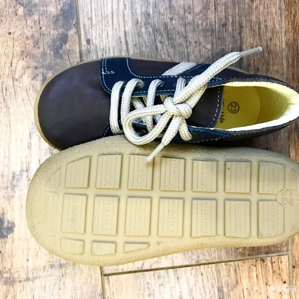 Ботинки из натуральной кожи, DPAM (Франция), 23