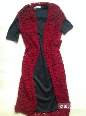 Комплект (платье + кардиган) , Amplebox, разм. XS-S