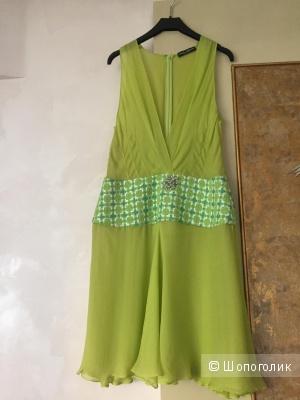 Шелковое платье Dolce Gabbana, маркировка 44