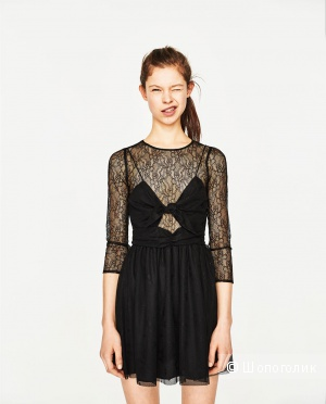 Новое кружевное платье Zara р-р S