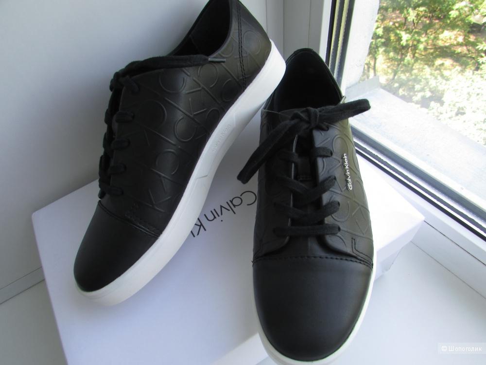 9855da6e3 Новые кожаные кеды Calvin Klein Imilia р 38, в магазине Другой ...