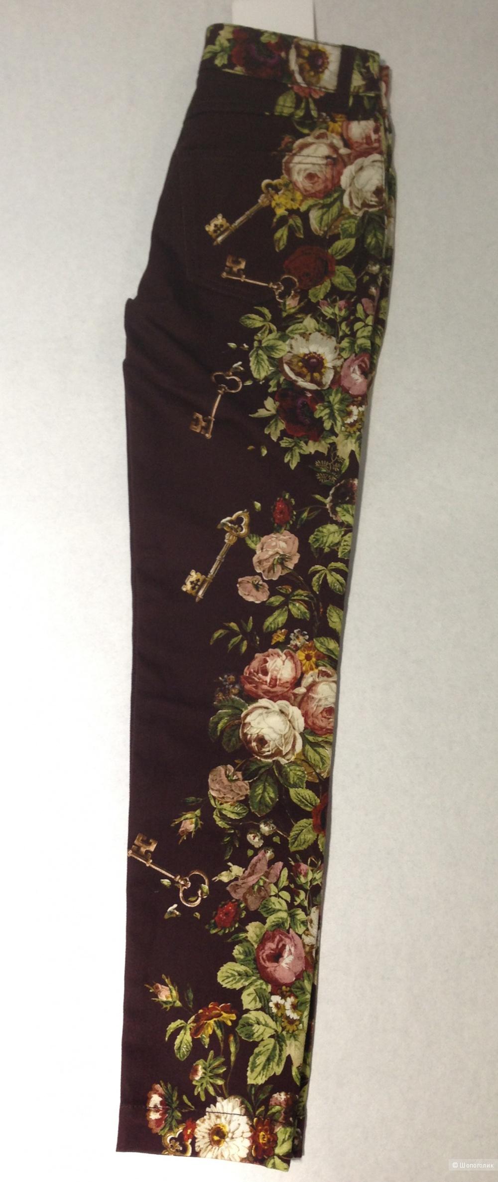 DOLCE&GABBANA джинсы из легендарной коллекции с ключами р.40 Новые Оригинал