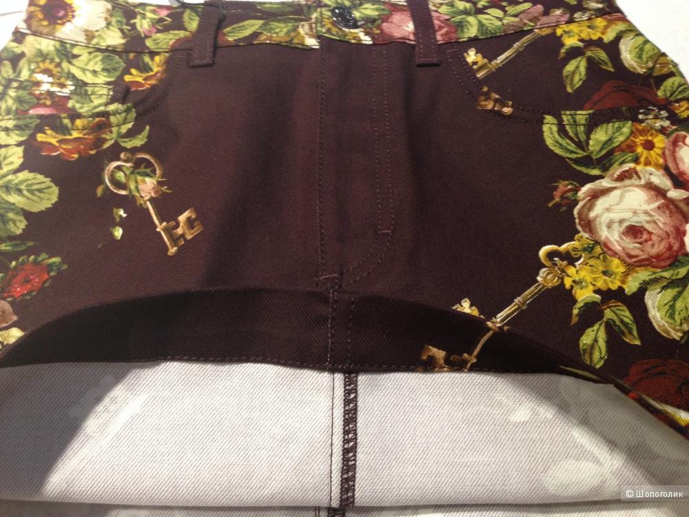 DOLCE&GABBANA юбка из легендарной коллекции с ключами р.44  Новая Оригинал