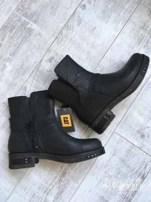 Новые Кожаные ботинки Caterpillar, 38-39 размер