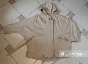 Куртка-ветровка Object свободного покроя из мягкого плотного хлопка с капюшоном на международный M/L