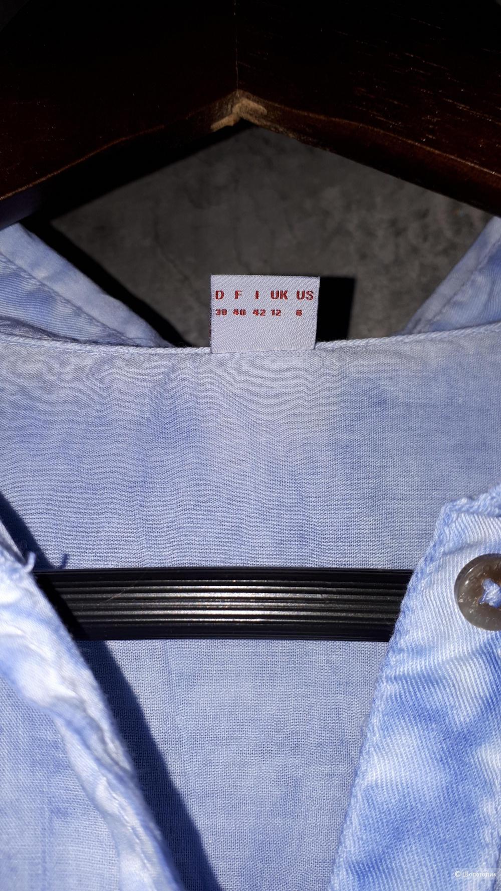 Рубашка S.Oliver 38 размер голубого цвета