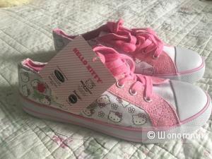 Новые кеды Hello Kitty на 22, 5 см дд