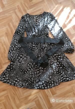 Платье из шелка, размер S-M