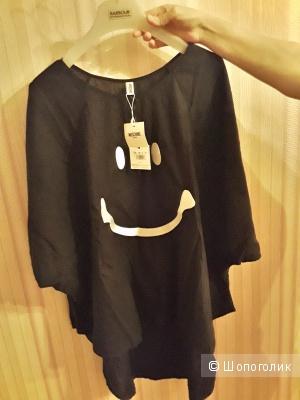 Платье-туника оверсайз Moschino р. 46