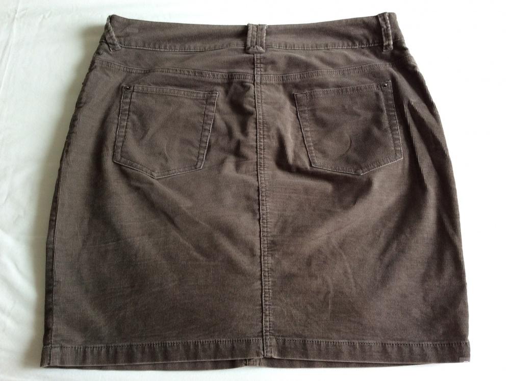 Вельветовая юбка S.Oliver р.38 (на 46-48)