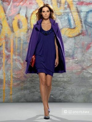 Потрясающее фиолетовое легкое пальто\тренч Patrizia Pepe р. 42 IT