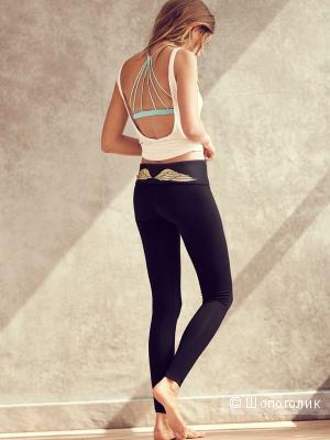 Новые леггинсы с золотыми крыльями для йоги\отдыха Victoria's Secret S