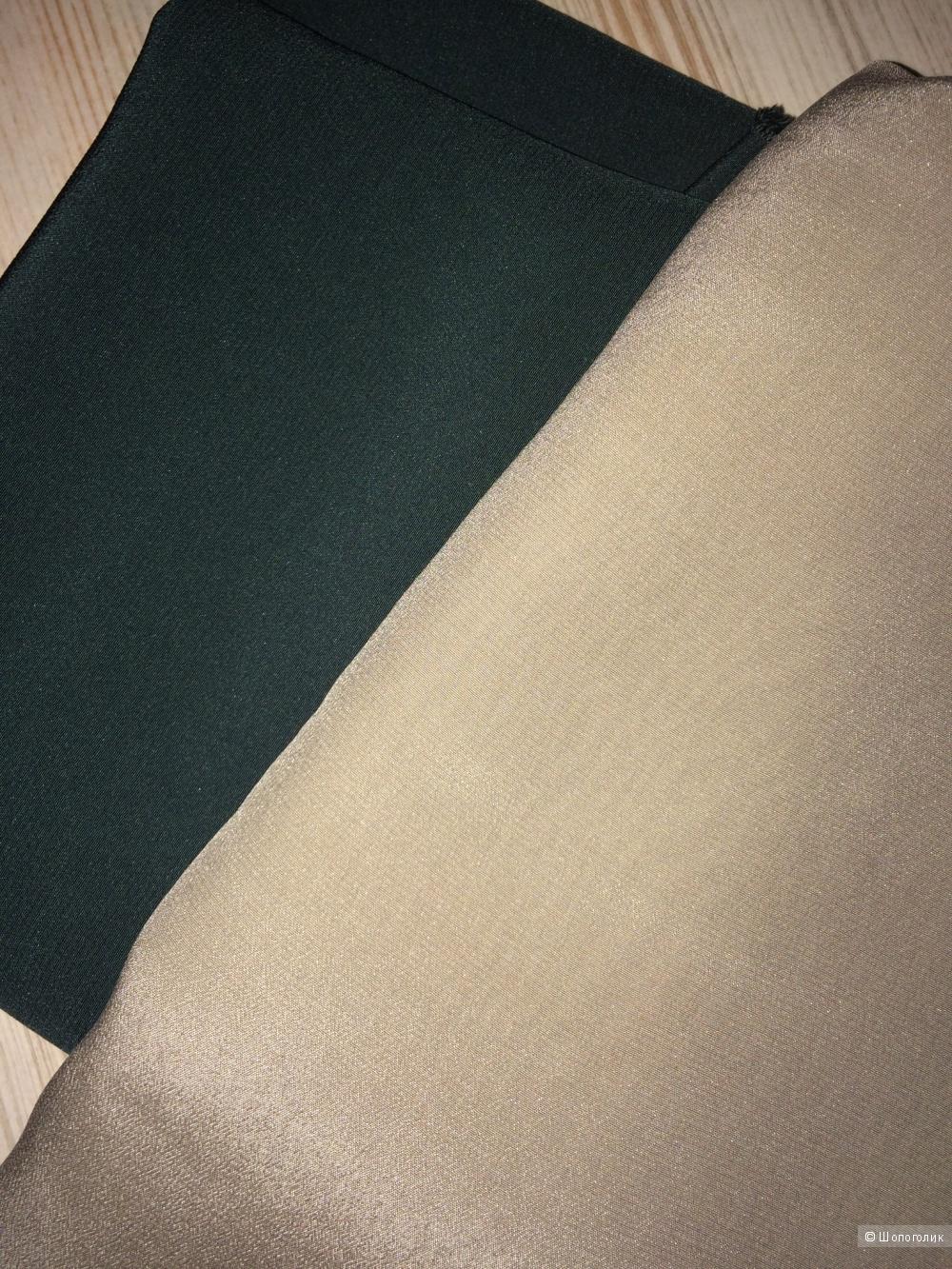 Двусторонний шелковый сарафан на 38-40-42 размер