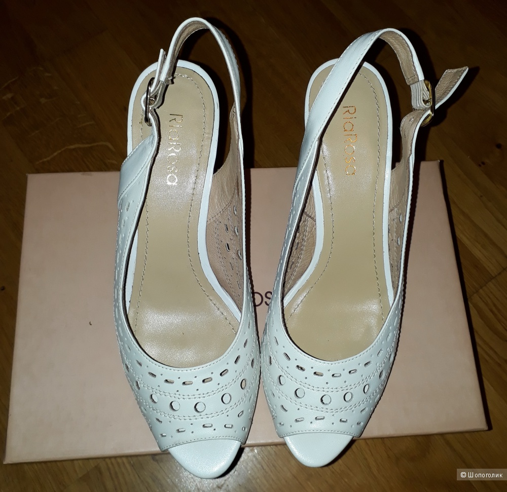 Белые туфли RiaRosa(Бразилия), размер 38