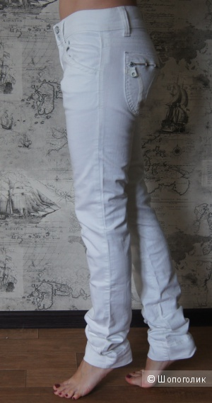 Белые джинсы miss sixsty, р-р 29