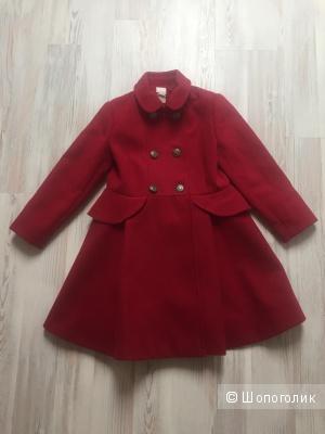 Пальто для девочки Monsoon, 122-128