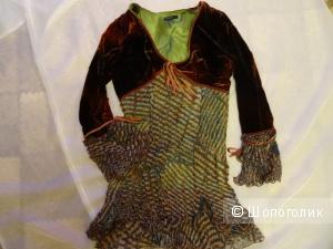 Платье Alexander McQueen, размер 46, б/у