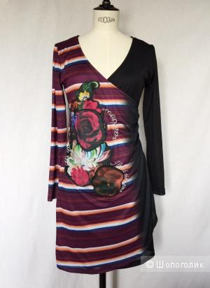 Платье для  модниц от марки DESIGUAL размер L