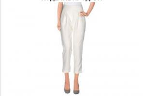 Новые Укороченные брюки с лампасами Twenty easy by Kaos, размер 42 (рус)