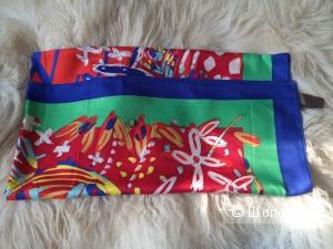 Платок шелковый реплика Louis Vuitton размер 110х110 см