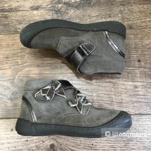 Ботиночки из натуральной замши, DPAM (Франция), 25