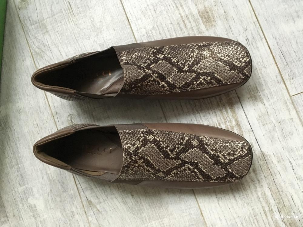 Новые кожаные ботинки Sesto Meucci, 38 размер
