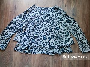 Леопардовая Блузка Zara S