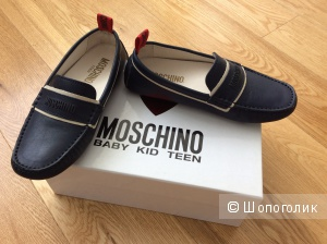 Детские мокасины Moschino р.32