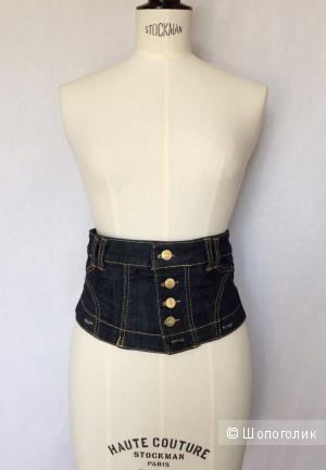Корсет джинсовый марка Joans размер 42-44