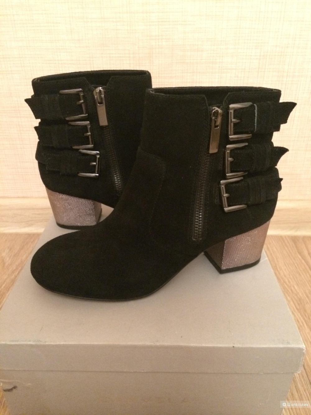 Новые ботинки Carvela, 38 размер, маломерки