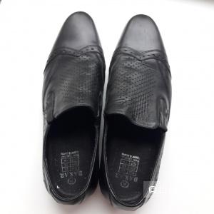 Кожаные туфли состояние новых 40 размер