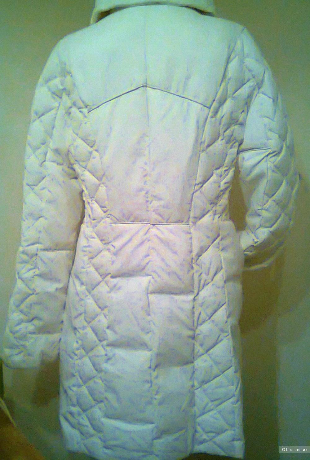 Пуховик пальто женский BLU byblos Италия р.48   Новый