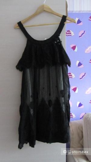 Шёлковое платье BCBG размер L новое