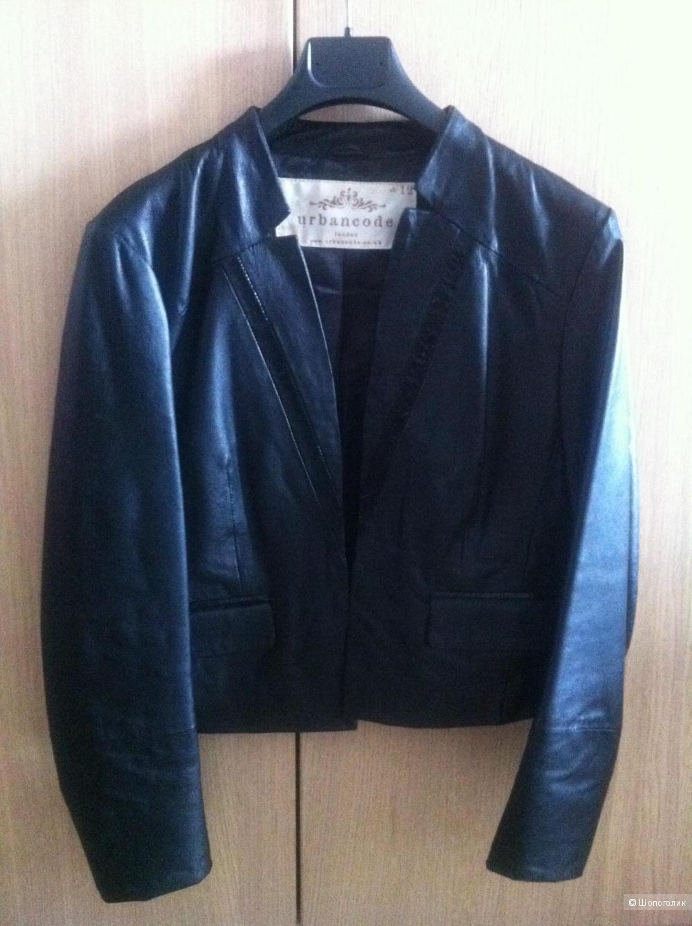 Кожаная куртка женская Urbancode 12 UK 46-48 размер