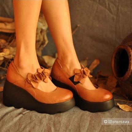 Туфли на платформе ф.Artmu на 36,5-37 разм