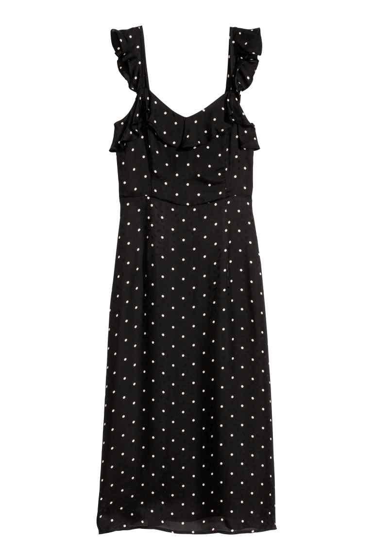 Прекрасное платье в горох HM евро 34
