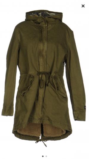 Куртка-парка SHOESHINE XL/маломерит M-L