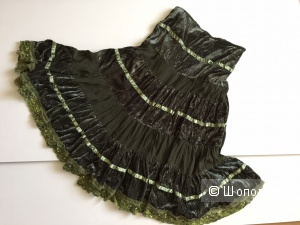 Красивая вечерняя юбка марка B.O.B. Belleovelles размер 48-50