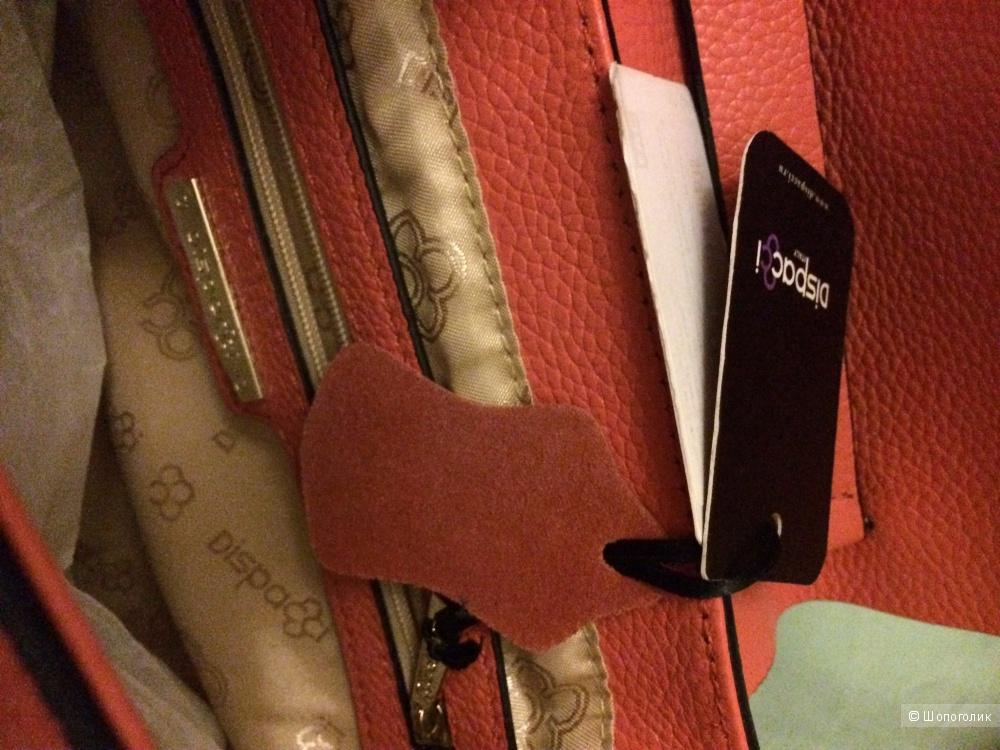Новая сумка Dispacci из натуральной кожи