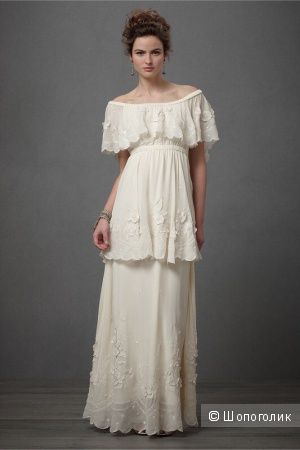 Платье, бренд BHLDN USA , 8 UK( 44-48 RUS)