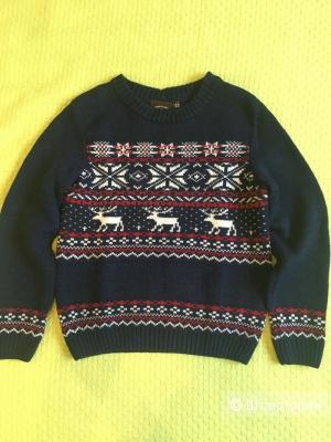 Детский тёплый свитер Finn Flare 134р.