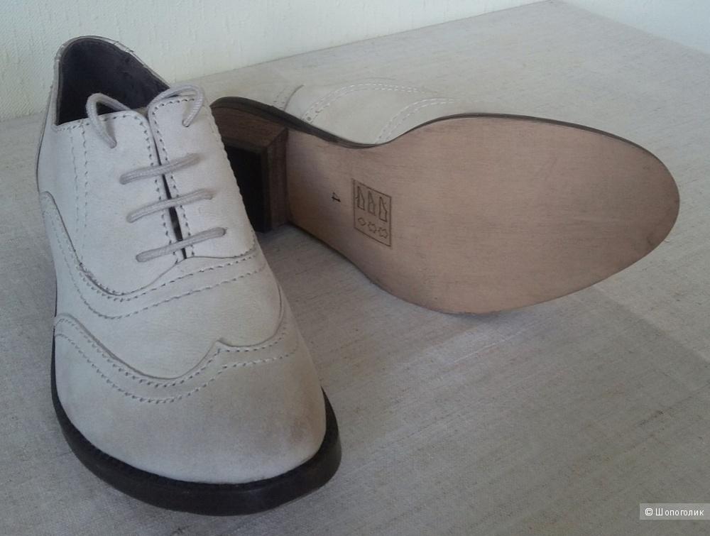 Женские ботинки, броги Asos, размер 4UK, натуральная кожа.