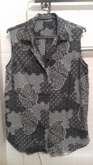 Блузка INCITY, цвет серый, размер 44