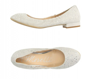 ANDREA MORELLI  балетки новые, серо-бежевый, размер 37.5 – 38.0